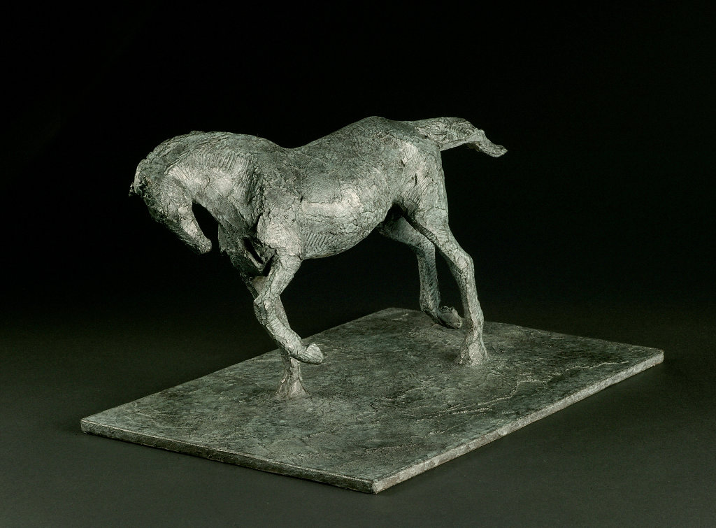 One sixteenth study of horse for Animals in War Memorial