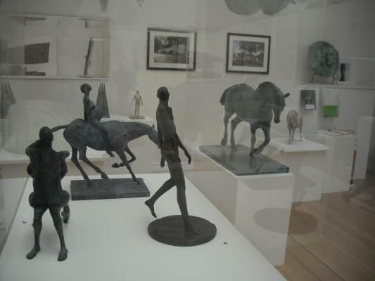Part of Backhouse Retrospective at the Royal West of England Academy